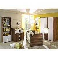 Babyzimmer / Kinderzimmer WIKI 2 in Walnuss - preisvergleich