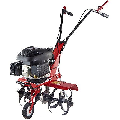 Gartenfräse Benzin Bodenfräse Motorhacke Ackerfräse Kultivator Max. 3,8kW–5,2PS 36/60cm Arbeitsbreiten GartenXL GF-600-B