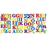 RoomMates - Wandsticker ABC kunterbunt 73 Stück