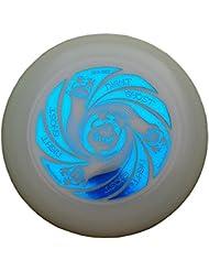 Ultimate Frisbee Discraft Ultra Star GHOST NIGHT GLOW di colore blu metallico - noctilucent