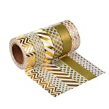 Washi Tape Masking tape Dekoband, 6er Pack (Farben-Set 4)