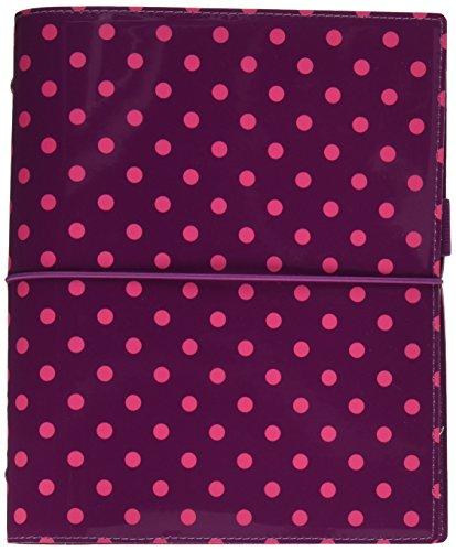 filofax-a5-domino-patent-aubergine-with-spots