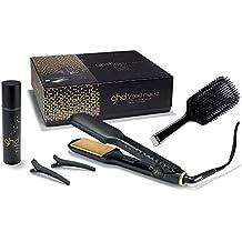 Ghd V Gold Max Styler Kit - Plancha + cepillo + spray de protección térmica