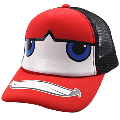Belsen Kind Hip-Hop Affe Mesh Cap Baseball Kappe Hut (Automobil Schwarz)