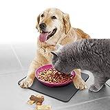 Yummynator Rutschfeste Matte | BPA Frei | Zubehör Für Yummynator Futternapf-System | Unterlage Für Futternapf Mit Schließsystem | Pink