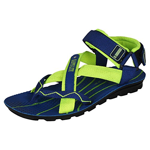 Super Men Canvas Blue Sandals & Floaters (6 uk)  available at amazon for Rs.198