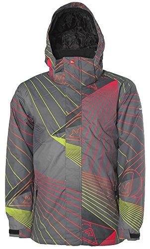 QUICKSILVER® Schneejacke Snowboardjacke Snowboard Jacke Winterjacke Grau S