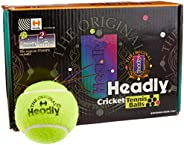Silver's Unisex Adult Headly Heavy Cricket Tennis Ball - Yellow, Pack