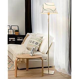 WYZ Irgendeine Heimatlampe Stehlampe, Nordeuropa Wohnzimmer Moderne Schlafzimmer Studie 220 V E27 Lampe Kopf Stehlampe (Farbe : B)