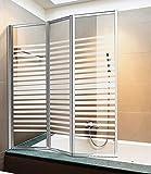 Categoria/Sottocategoria:Accessori bagno/Pannelli per idromassaggioArticolo:PARETE VASCA 3 ANTE CROMATO SERIGRAFATO CM.140X134 G11SL Confezione da 1PZ Rif. Figura: 62970 profili in alluminio cromato, pareti in cristallo serigrafato da ...