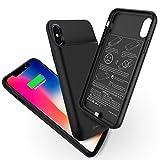 Best Chargeurs de batterie de sauvegarde - iPhone X/10Compartiment de batterie, Newdery 3600mAh Ultra fin Review