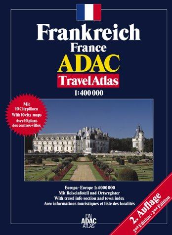 Atlas routiers : France - Frankreich (en allemand)