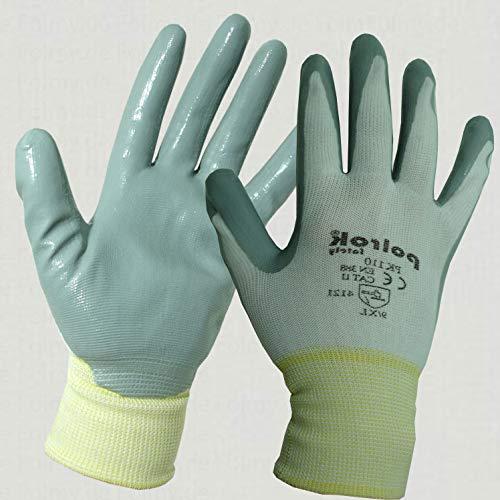 240 Paar Mechanikerhandschuhe (Größe XL, grau-weiß). Montagehandschuhe. Sicherheitshandschuhe. Gartenhandschuhe. Arbeitshandschuhe. Handschuhe. Strickhandschuhe.