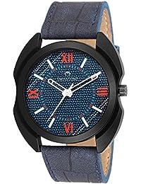Swisstone FTREK128-BLU Blue Dial Blue Strap Wrist Watch For Men