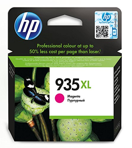 HP 935XL - Cartucho de tinta Original HP 935 XL de álta capacidad Magenta para HP OfficeJet Pro 6230, 6830