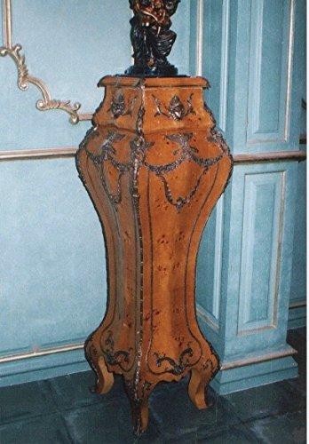 LouisXV Barock Säule Blumenständer Rokoko MoAl0373 antik Stil Massivholz. Replizierte Antiquitäten Buche (Ahorn, Mahagoni, Eiche) Antikmessing Beschläge, furniert, intarsiert