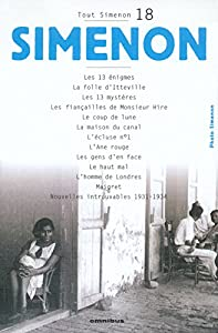 "Afficher ""Tout Simenon n° 18<br /> Oeuvre romanesque.18"""