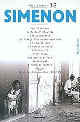 Tout Simenon, tome 18