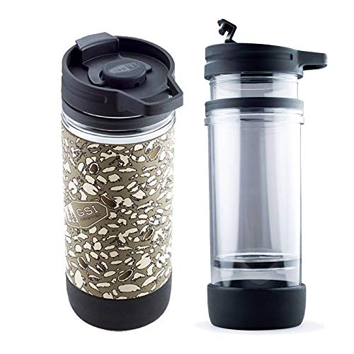 GSI Outdoor Thermo Trink Becher French Press Kaffee Bereiter Presse Auto Camping (Presse French Kaffee)