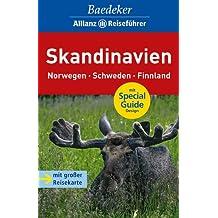 Baedeker Allianz Reiseführer Skandinavien, Norwegen, Schweden, Finnland