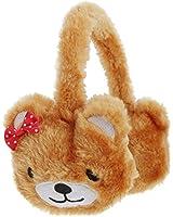 Girls Animals Winter Ear Muffs (Cat, Lion, & Bear Options)