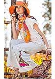 Attire Ladies Doll Embroidered Khadi Cot...