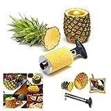 Itian Taglia Affetta Sbuccia Ananas, Snocciolatore e Affettatrice, Acciaio Inossidabile