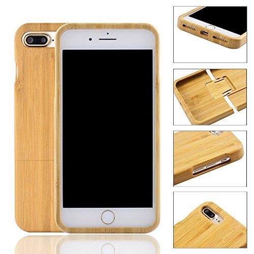 frixie (TM) nuovo handmade Geniune rigida in legno di bambù Cover posteriore per Apple Iphone 6/6S 4.7Inch Bamboo Iphone 6s Bamboo Iphone 7plus