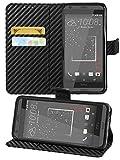 Gadget Giant Case for HTC Desire 530/630, Carbon Fiber