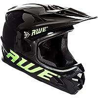 AWE® AWEBlast™ libre 5 Año Crash de repuesto * BMX Downhill casco negro Medium 56 - 58 cm
