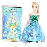 #3: You Gadget Electric Frozen Elsa Dancing Barbie Doll With Light Sensor And Music