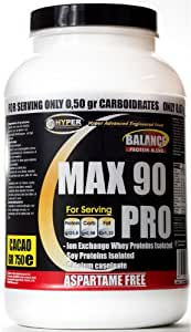 Protein 90 low in fat and carbohydrates enhanced with vitamins 3
