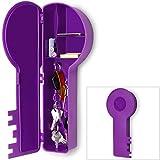 Schlüsselkasten in Schlüsselform Schlüsselbox Schlüsselbrett Schlüsselschrank Ablage lila