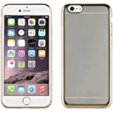 Muvit MLBKC0001 - Funda para Apple iPhone 6/6S, marco dorado