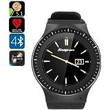 Android reloj teléfono ZGPAX S99B - ranura para tarjeta SIM, 3G, WiFi, 5MP cámara, ritmo cardiaco, podómetro, Monitor, Quad-Cor