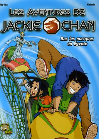 Les aventures de Jackie Chan, Tome 2 : Bas les masques en Egypte