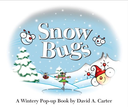 Pop-Up Book Snow Bugs: A Wintery Pop-Up Book (Bugs in a Box Books)