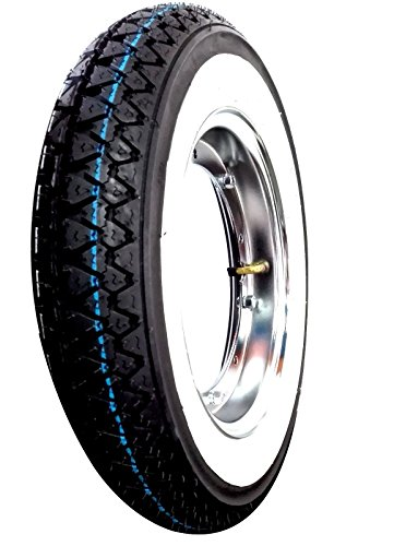 1-complete-wheel-mounted-for-piaggio-vespa-px-125-150-200-with-1-circle-1-tyre-kenda-k-333-with-whit