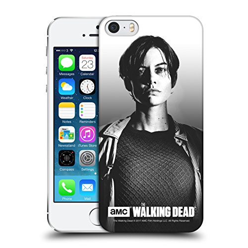 Offizielle AMC The Walking Dead Negan Gefilterte Porträts Ruckseite Hülle für Apple iPhone 6 / 6s Maggie
