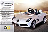 Actionbikes Motors Kinder Elektroauto Mercedes Lizenziert McLaren Stirling Moss Kinder Elektro Auto Kinderauto Kinderfahrzeug Spielzeug für Kinder