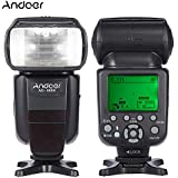 Andoer AD-980II E-TTL HSS 1/8000s maître esclave GN58 Flash Speedlite pour Canon 5D Mark III/5D Mark II/6D/5D/7D/60D/50D/40D/30D/700D/100D/650D/600D/550D/500D/450D reflex numérique
