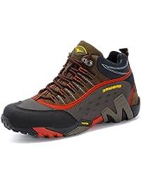 GNEDIAE Para hombre Mujer Botas de Senderismo de ocio al Aire Libre Zapatos de Deporte Zapatillas de Senderismo cordones Trainer botas 35-46