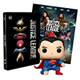 Justice League Steelbook + Poster + Funko Superman