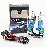 1 paire H4 / HB2 / 9003 Voiture Lumière Rapide Xénon Lampe 6000 K Phares Remplacement Ampoule pour RV SUV MPV Voiture