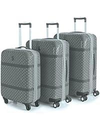 VICTORIO & LUCCHINO - Set de 3 trolleys en policarbonato Lunares