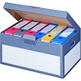 """karton-billiger 5 Stück Archivschachteln Klappdeckel """"Premium"""" mit Boden und Deckel"""