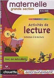 Activités de lecture Grande Section : 5/6 Ans