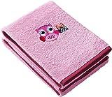 Kinderbutt Handtuch 2er-Pack Frottier rosa Größe 50x70 cm