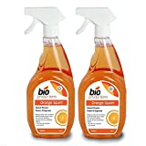 2 Professional 750ml Bottles Of Orange Cleaner & Degreaser To Remove Dirt, Stains, Grease From All Surfaces - Leather, Granite, Cars, Carpets, Tiles, Oven & BBQ's 1.5L - Comes With TCH Anti-Bacterial Pen!