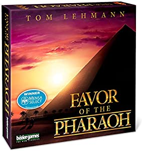Favor of the Pharaoh - Board Game - English